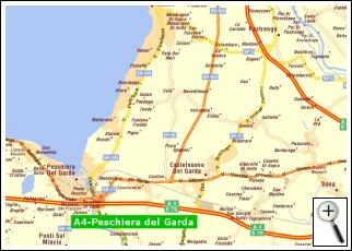 Karte Italien Gardasee.Wo Wir Sind Hotel Garda San Marco Mit Restaurant In Garda Verona